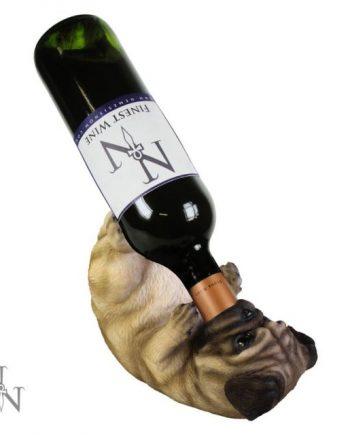 Pug Guzzler Wine Holder