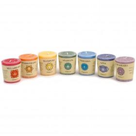 900640-L1 7 chakra candles