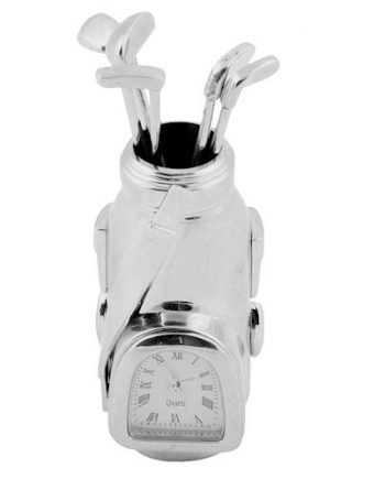 Miniature Clock Golf Bag
