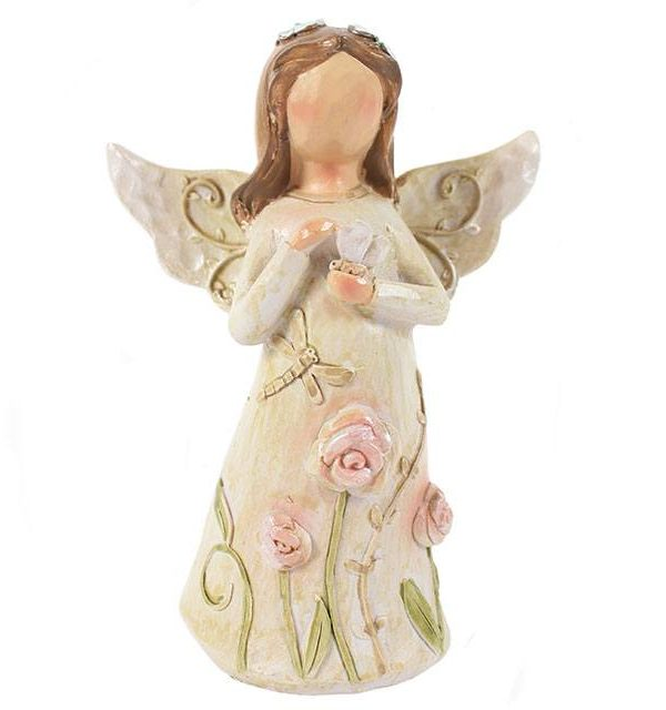 angel, family, figure, gift, ornament, present