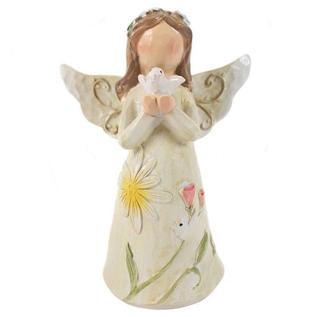angel, family, figure, gift, ornament, present