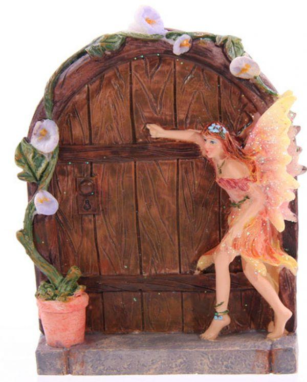 Apricot fairy door