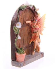 Apricot fairy door side view