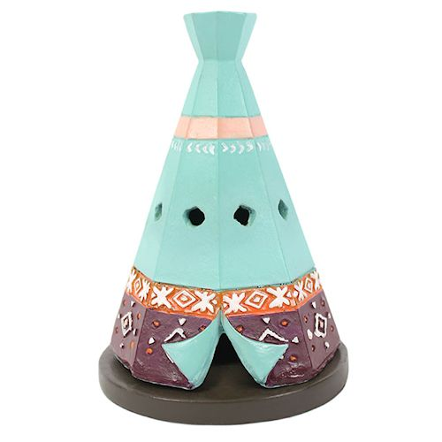 Boho Teepee Incense Cone Holder