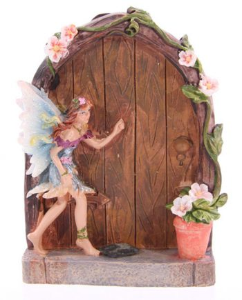 Blue Fairy Door fairy door, garden, home, ornament, gift, magical