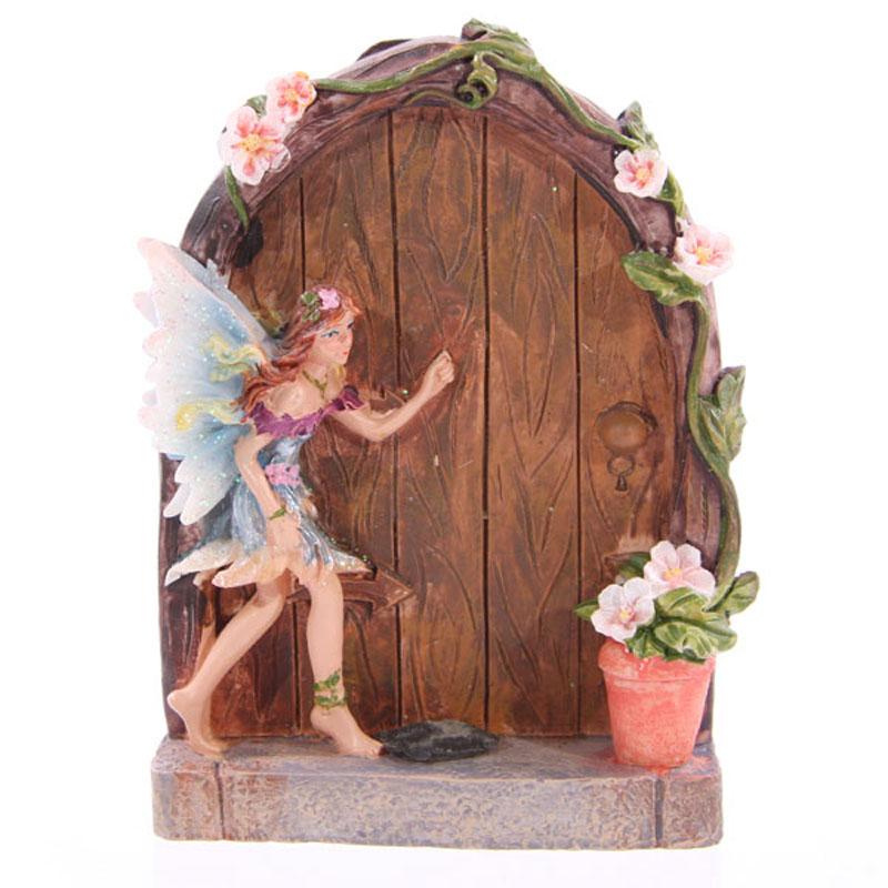 Blue Fairy Door fairy door, garden, home, ornament, gift, magical