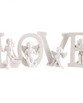 CO_61435 Love Cherubs Message of Love Angelic Gift Present Sister Mum Nan Daughter Partner