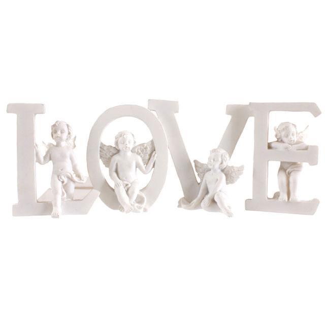 CO_61435 Love Cherubs Message of Love Angelic Gift Present Sister Mum Nan Daughter Partner