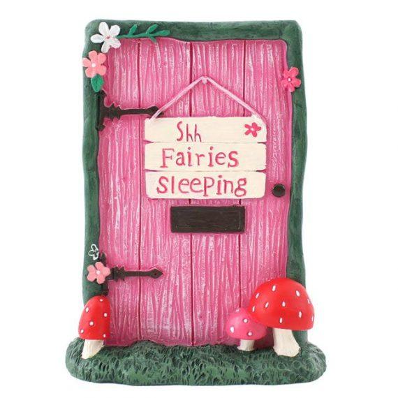 FD_12135 Fairy Door 'SHHH' Sleeping,home,garden, ornament,gift