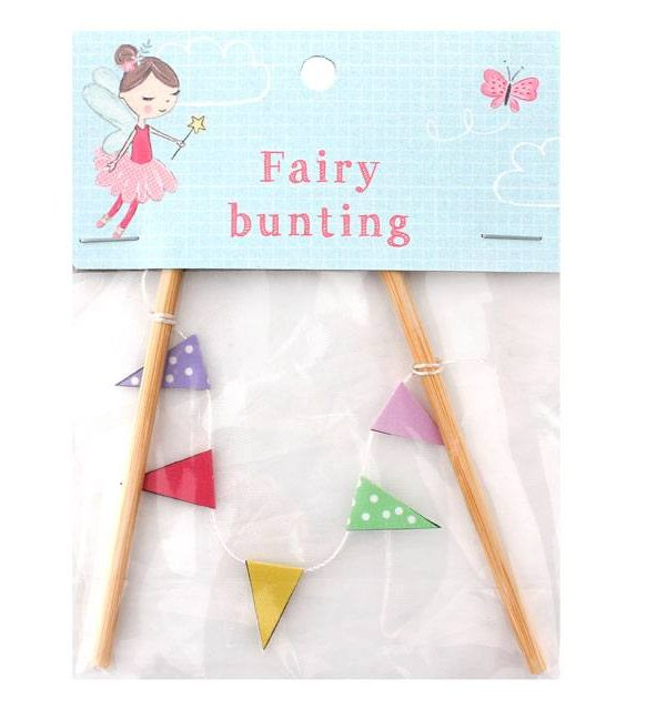 FD_13335 fairy bunting, decorative, fun, accessory, fairy garden