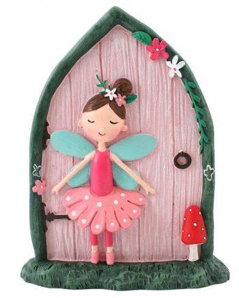 Fairy Door with Fleur,garden, home, ornament, gift, magical