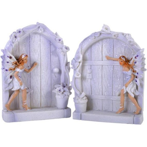 Lilac fairy Doors,fairy door, garden, home, ornament, gift, magical