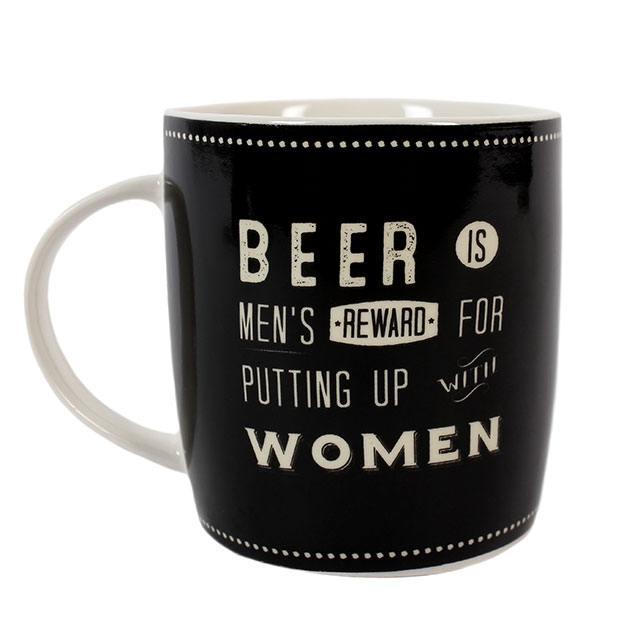 retro beer mug