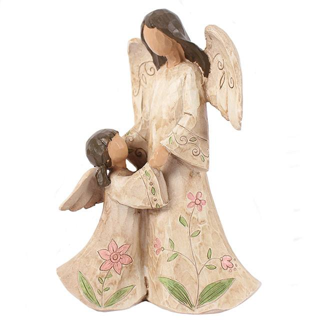 Mother and Daugher Figure, angel, collection, gift, present, family