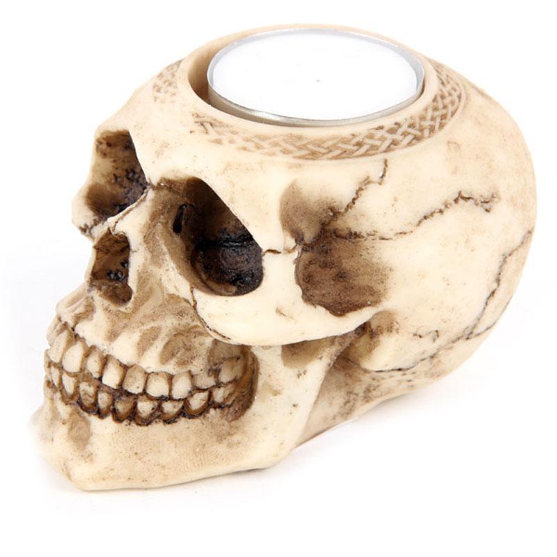 skull tealight 3