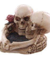 SK176_001 skull ashtray