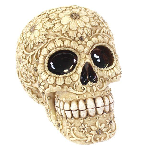 Floral Skull Head (2)