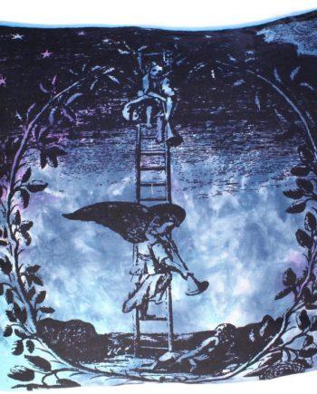 icush-04 Angel on Ladder Cushion Cover