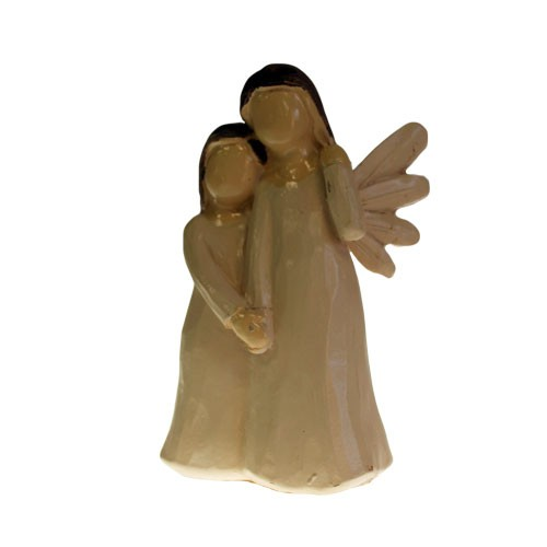 natang-03 Natures Angels sisters friend mother daughter ornament figurine gift