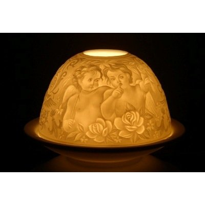 Feng Shui to create a more settled atmosphere whispering angel candle tea light holder gift for her