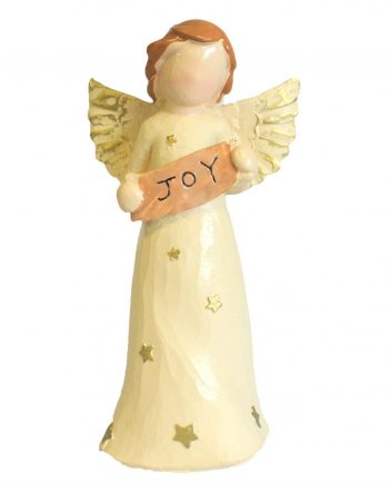 Natures Angels Ornament Figure Gift - JOY