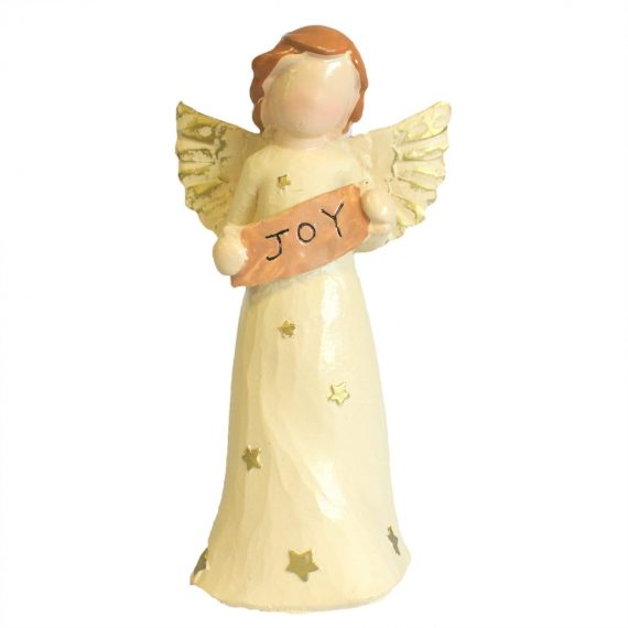 Natures Angels Ornament Figure Gift - JOY