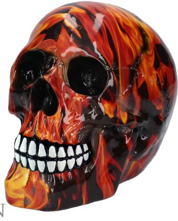 Small Inferno skull Nemesis Now
