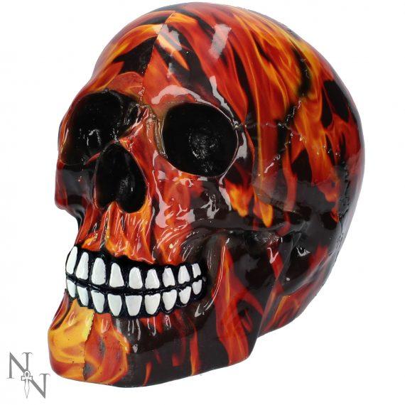 Small Inferno skull Nemesis Now