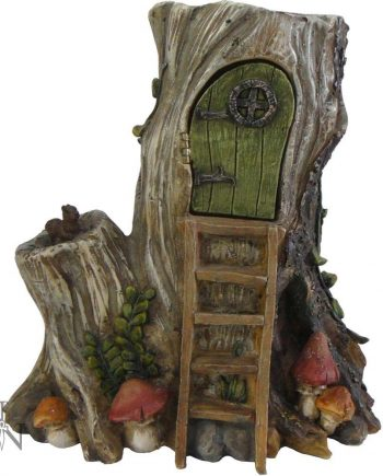 Sacred Stump Fairy House