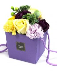 s-l1600 Purple Flower Garden Soap Bouquet