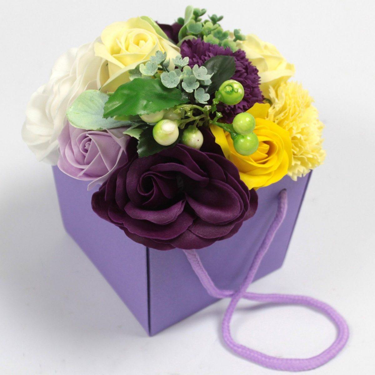 Purple-Flower-Garden-Soap-Bouquet