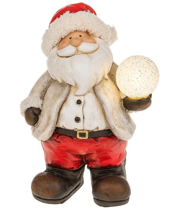 272521 santa snowball led light