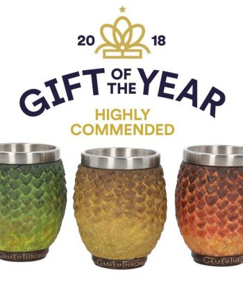 Game of Thrones dragon shot glasses official licensed produce