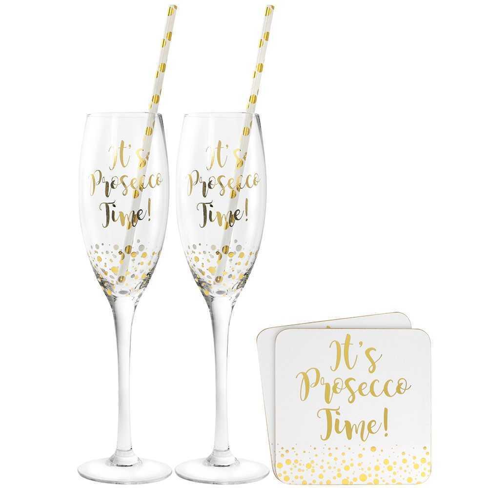 Prosecco cocktail set